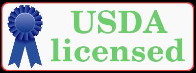 USDA licensed